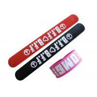 Custom Rubber Wrist Bands Slap Band 280 * 30 * 2mm, 230 * 30 * 2mm, 230 * 20 * 2mm