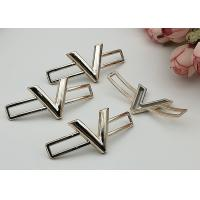 Simple Style Plastic Shoe Buckles , Small Shoe Buckles For Gifts Ladies Shoe
