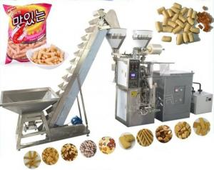 3 In 1 Coffee Bean / Sugar / Salt Snacks Packing Machine 20-60BPM