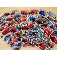 3D Car Themes Decorative Custom Puffy Stickers , 3D Cartoon Car Foam Stickers