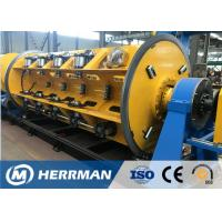 Horizontal Wire Manufacturing Machine , Rigid Type Steel Wire Armouring Machines