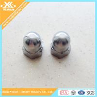 China DIN1587 Titanium Hexagon Domed Cap Nuts