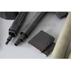 China 100% Carbon square tube carbon fiber square tube on sale
