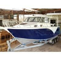 30ft V - Hull Aluminum Fishing Boats Saltwater Fishing Boats Outboard Engine