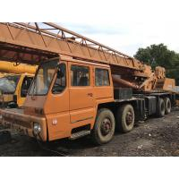 TADANO TG-500E Second Hand Cranes , 50 Ton Second Hand Truck Cranes Nissan Diesel
