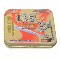 China Silver Sword Herbal Long Duration Enhancement Sex Pills on sale