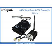 10~30KM Long Range Video Transmitter 1.2Ghz Wireless Image Sender 6 Channels Analog