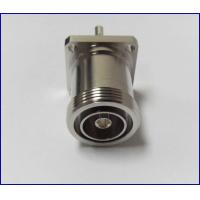 High quality straight  flange rf coaxial 7/16 DIN connectors with cable