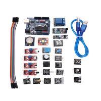 24Pcs Arduino Sensor Kit With UNO R3 Development Board DHT11 Sensor