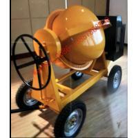 Mobile Concrete Mixer Machine 350L Small Gasoline Diesel Seft-Load Concrete Mixer