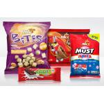 Plastic Color Printed Food Packaging Bags , Snack Packaging Pouches Bag