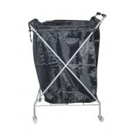 Towel Hair Salon Furniture Hand Trolley Cart with Anti Aging / Abrasion