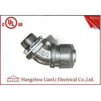 3/4UL Flexible Conduit Fittings , Insulated Flexible Duct Connector