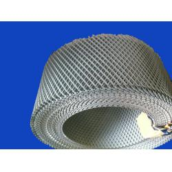 China Low Carbon Steel Expanded Metal Mesh Sheet Roll For Highway 0.5 - 2m on sale