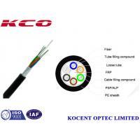 Non Metallic Direct Burial Outdoor Fiber Optic Cable G657a1 Telecom Grade 144 Cores