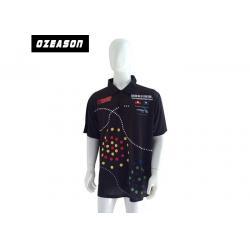 China custom printing dri fit short sleeve golf polo shirts mens polyester on sale