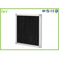 Pleated Activated Carbon Air Filter Max Operating Temperature 70°C High Efficiency