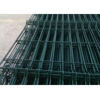 Durable Welded Wire Fence Q195 Steel Wire Raw Materials With Anti - Thief Post