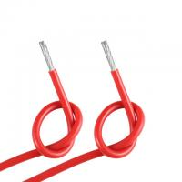 Red Silicone Flex Cable / Silicone Coated Electrical Wire 300V 150C UL3132