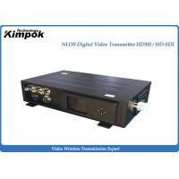 5.8 Ghz HD 10-20W COFDM Transmitter , Low Latency Wireless Transmission System