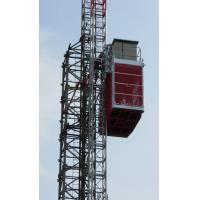 Durable Single Cage Building Construction Material Hoist Lift High Speed