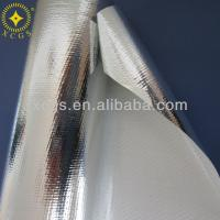Double side aluminum foil coated pe woven cloth radiant barrier insulation