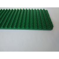 Grip Pattern Petrol Green PVC Conveyor Belt Replacement High Performance Wear Resistant