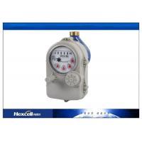 Lithium Battery Remote Reading Water Flow Meter , Prepaid Water Meter
