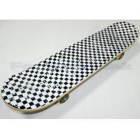 31 Inch Long Heat Transfer Maple Wood Skateboards Printed On 80s Black Grip Tape