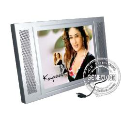 China Metal Shell 17 inch Wall Mount LCD Display Panel for Poster , 500cd/m2 on sale