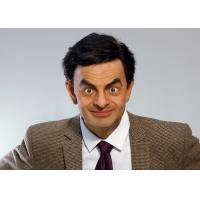 Silicone And Resin Film Star Mr. Bean Celebrity Wax Figures / Celebrity Wax Sculpture
