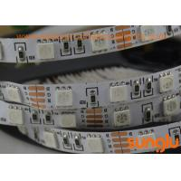 Full Color RGB 5050 LED Strip Lights , LED Flexible Strip Lights For Interior House
