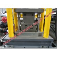 Adjustable Metal Steel C Stud And Track Roll Forming Machine Thickness 0.6-0.8 mm