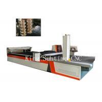 Soft Material Cutter CNC Clothes Cutting Machine 4000rpm / Min Speed