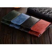 Stylish Blue Leather E Cigarette Case / IQOS Electronic Cigarette Leather Cover