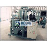REXON High Voltage Transformer Oil Purifier Machine Insulating Oil Filtration Durable