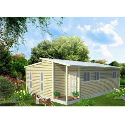 China Construction Prefabricated Granny Flat Homes , New Bungalow Style Homes on sale