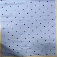 100% Cotton Textile Fabric Bright And Clean Surface Brightly Colored