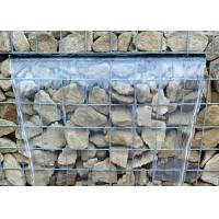 Hexagonal Or Square Galfan Gabion Baskets / Gabion Stone Cages For Decorative