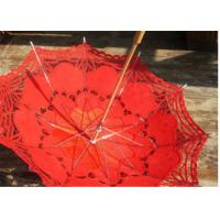 Transparent Unique Rain Umbrellas lace printed wedding favors wedding parasol