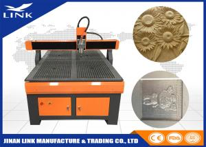 Precise Woodworking CNC Router Engraver Machine With Ball Screw / MACH3 Controller