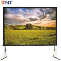 250 inch folding projection screen with 4:3 ratio