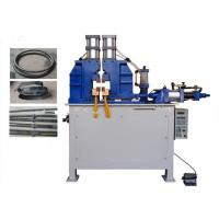 Rebar Butt Electric Spot Welder , Flash Butt Welding Machine For Steel Strip / Rod / Steel Tube