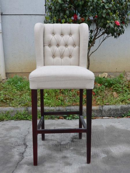 Fabric Breakfast Bar Chairs Muse Interiors Pinteres Gorgeous