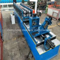 Galvanized Steel Profile Stud And Track Roll Forming Machine High Speed