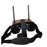 Mini 2 Inch Large Degree FOV 480x3600px FPV Goggles With 48CH 1000mah Battery