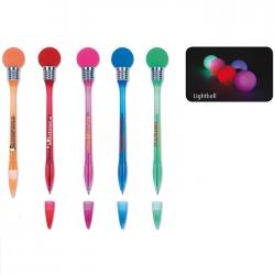 China Custom design Plastic Led lighting label & Ballpoint Pen for Promotional Gifts, Toy on sale