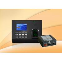 Biometric thumbprint access control system with integrated proximity or smart card reader