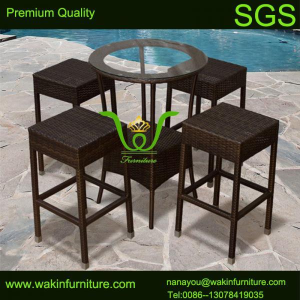 outdoor bar sets rattan bar stools