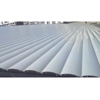 Exterior Ceiling Louvre Sun Shade Systems 1000 - 6000mm Blades Span Motorized Control